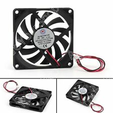 1x DC Sin Escobillas Ventilador de Refrigeración 24V 0.15A 8010S 80x80x10mm 2Pin