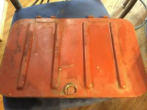 Original old Willy's old Jeep part -  tool box cover for CJ3 or CJ5