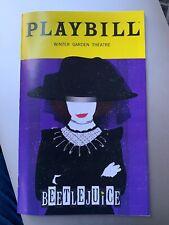 Beetlejuice Broadway Playbill January 2020 Limited Lydia Edition! FREE US SHIP