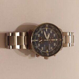 CITIZEN Orologio Uomo Cronografo Of Collection Aviator Chrono CA0695-84E