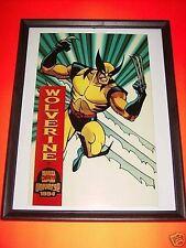 Wolverine Fleer Marvel Universe Master Print