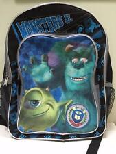 DISNEY Monster U University bookbag 13 x 16 school backpack