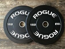 Rogue Fitness 10LB Bumper Echo Plate (PAIR) - SHIPS ASAP, NEW IN BOX!