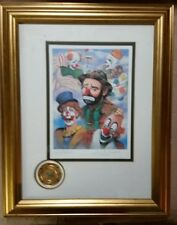 Original Emmet Kelly Circus Collection Lords of the Ring signed numbered