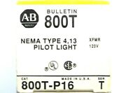 NEW ALLEN BRADLEY 800T-P16 PILOT LIGHT 800TP16