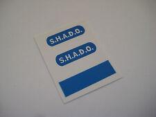Dinky 351 - Shado U.F.O.  [ Blue Round ] Stickers - B2G1F