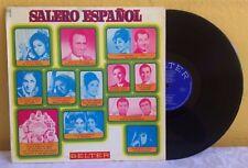 SALERO ESPAÑOL FEAT. LOLA FLORES-DOLORES VARGAS SPANISH LP FOLK