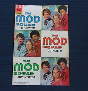 THE MOD SQUAD #3 DELL COMICS TV Show 1969 Peggy Lipton Clarence Williams III