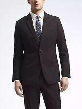 Banana Republic Standard Solid Wool Suit Jacket, Black blazer 40S 40 S  257922 6