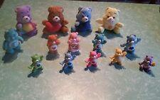 lot de 14 divers figurines BISOUNOURS - care bears