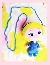 Disney Frozen Childhood Princess Elsa Children & Teenagers Zipper Plush Hand Bag