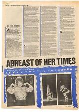 Bette Midler Interview NME Cutting 1981