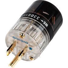 Wattgate 330 AU evo Clear Audio Grade Gold Plated Edison Pow