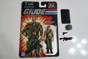 G.I. JOE 25th Anniversary First Sergeant Duke - COMPLETE Foil Card