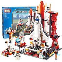 NEW City Spaceport Space The Shuttle Launch Center 679Pcs Bricks Building Block