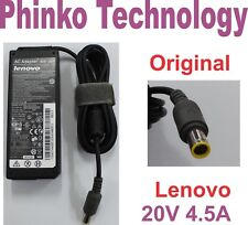 Original Adapter Charger for Lenovo Thinkpad Laptop T400 T500 W500 20V 4.5A 90W