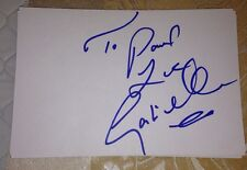 GABRIELLE SIGNED 6X4 WHITE CARD MUSIC AUTOGRAPH POP SOUL JAZZ TO PAUL
