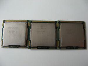 3x Intel Core i5 CPU Prozessor i5-1x 650 2x i5 750