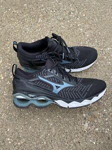 Mizuno Wave Creation 20 Knit Men's Size 13 D Black/stormy Weather Running Shoe