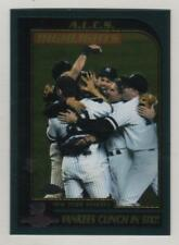 2001 Topps Chrome #330 New York Yankees Clinch in Six ALCS Highlights BV$4