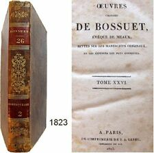 Oeuvres choisies de Bossuet T.26 Lebel 1823 Controverse 2