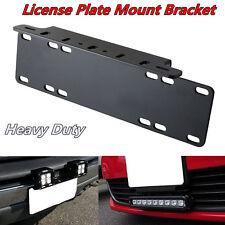 Car Offroad 4x4 Fog Lamp/ LED Light Bar Front Bumper License Plate Mount Bracket