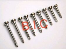 100pcs orthopedic Cortical/Cortex screws 3.5mm Self tapping Hex head Stainless
