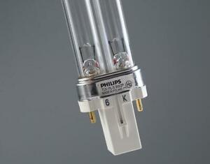 Philips TUV PL-S 9w Single Tube 2-pin G23 Compact UVC Germicidal lamp
