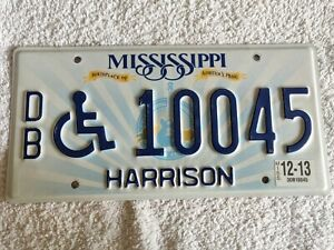 MISSISSIPPI **MEGA CLEARANCE £3.99** Genuine Pre-Owned USA License Plate