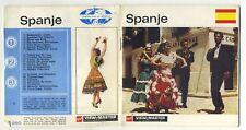 SPANJE SPAIN GAF Belgian-made ViewMaster Packet C250-N Dutch edition