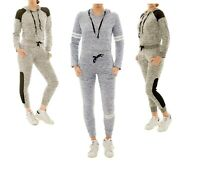 Icon Apparel Women's 2pcs/set Lightweight Tracksuit Jogger Gym Sweatshirt Pants