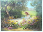 """DIANA REINEKE """"RESTING"""" LIMITED EDITION HAND SIGNED LITHOGRAPH PRINT"""