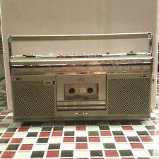 VTG ~ JVC RC-S5JW Boombox Radio FM/SW/MW Cassette Stereo Recorder Ghettoblaster