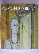 Gaston Bertrand peintre moderne belge peinture catalogue raisonné