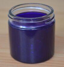 100 x 60ml Purple glass jars, bakelite lids, unused from a food factory