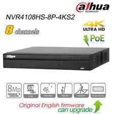 Dahua 8Ch Poe 4K Uhd Security Nvr H.265 P2P Sata Hdmi Nvr4108Hs-8P-4Ks2 for Ipc