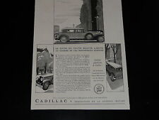 Advertising - Cadillac - 1932 - Press - Advertising