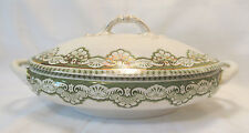 Henry Alcock & Co England Semi Porcelain EROS Oval Covered Serving Bowl