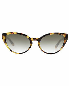 Chloe Women's Havana And Gradient Smoke Acetate Sunglasses CE757S-845 MSRP $335