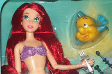 DISNEY  Ariel Little Mermaid  Deluxe Singing Doll - 11''  NIB