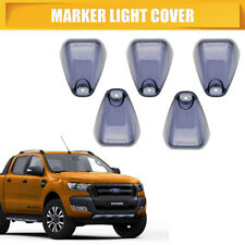 5 Smoke Marker Light Cover Car Roof For Ford F-250 F-350 Super Duty