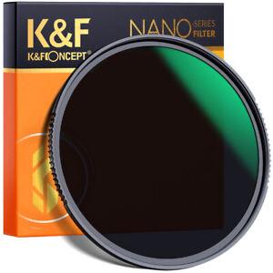 K&F Concept 49-82mm Nano-X ND Filter ND64 Graufilter Neutral Density Filter