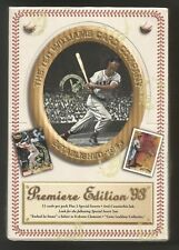 1993 Ted Williams Co. Box of Baseball Trading Card Packs - Unique Insert Sets!!!
