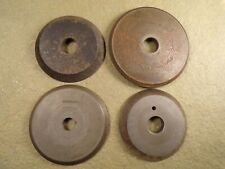 Lot of 4 Key Machine Cutter/Cutting Wheel for Vintage / Antique Key Machine Yale