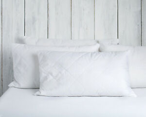 Wool Pillows standard size white filled merino wool cotton Next day delivery