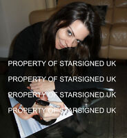 LINSEY DAWN MCKENZIE Signed 12x8 Photo GLAMOUR MODEL & ADULT MOVIE Star COA
