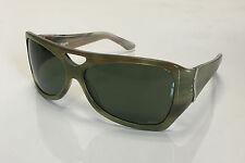 Initium Sticky Fingers Polarized Handmade Mens Womens Sunglasses-Green Horn