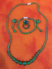 Hasbro - 1999 Pretty Pretty Princess Replacement Green Jewelry [COMPETE] (EUC)