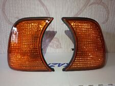 For BMW 5-Series E34 Amber Corner Lights Turn Signals PAIR 1989-1995