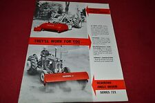Ford Tractor 721 Dearborn Angle Broom Dealer's Brochure LCPA2